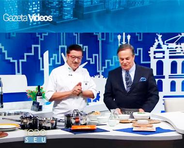 Mestres da Gastronomia: Fernando Carneiro no Programa Programa Todo Seu