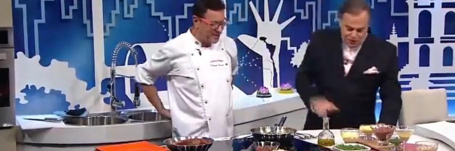 Fernando Carneiro com Ronnie Von